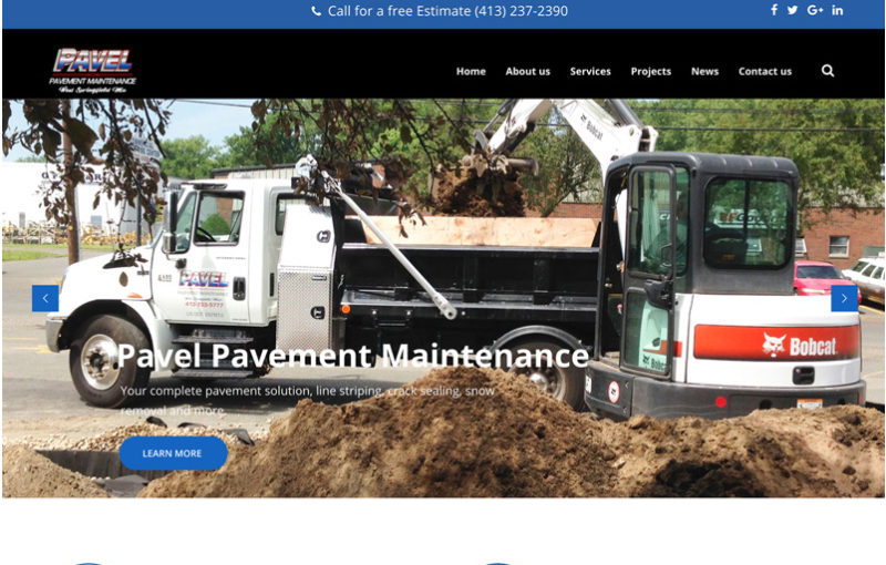 Pavel Pacement Maintenance Client image